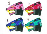 Zoids Adoptables 1 by liongirl2289