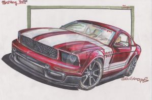 Mustang.red by HorcikDesigns