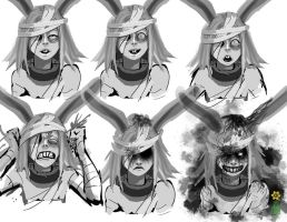 Expressions- Rabbit by dinmoney