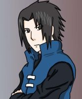 Sasuke Uchiha- Adult version by HikariNinjaX