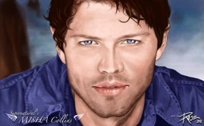 Misha Collins by Rose-Gem