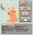 Silver Feather -Official Reference Sheet- by That1MegaLeaFan