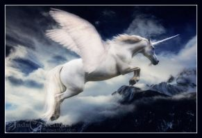 Winged Unicorn by JadaCollectibles