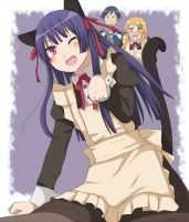 Kuroneko can't be this cute by ageha1sBf