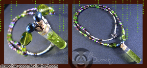 Zombie Vial Necklace by Scorchie-Critter
