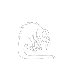 Six legged ghoul [WIP] by CaptainGaylie