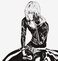 DEATH NOTE- Mello by 821GoThIc-VAMPIRE