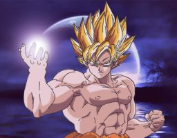 Spirit Bomb For Spirit Day by DarkAngelxVegeta