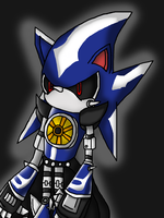 Neo Metal Sonic by Katrins23