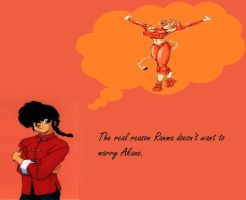 Ranma's True Love... Take One by laidler123
