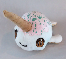 Iced Narwhal by BaileyNickerson