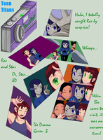Beast Boy's Pictures by Linzerj