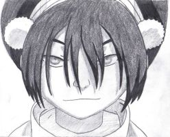 Toph-Black and White Version by Mlee0096