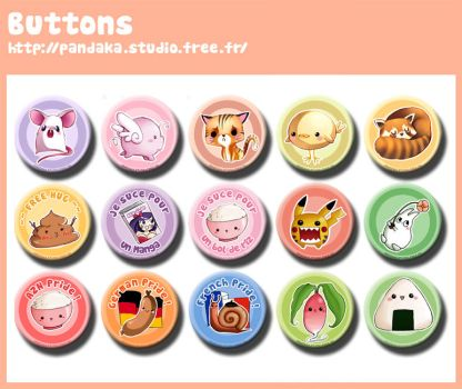 Des buttons des buttons by choco89