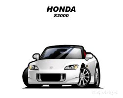 Chibi Honda S2000 by CGVickers