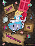 Alice In Wonderland by nenglehardt