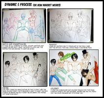Process: Infinite Stage Dynamic 5 by marikit