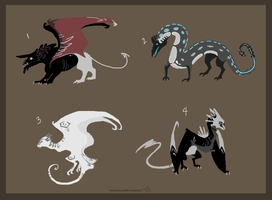 Dragon Adopts 4 [CLOSED] by Adopt-Monstar