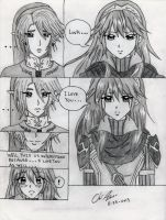 Lucina and Link: Forever by Kisarasmoon