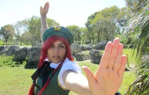 Hong Meiling: Come at Me by LunarEmpress