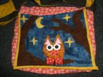 Quilted Owl shoulderbag by BellaGBear