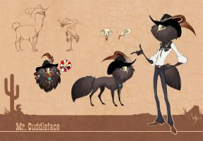 Mr. Cuddleface Ref by hellcorpceo