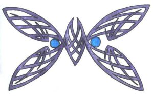 Celtic Butterfly by 3immortals