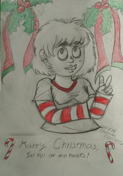 Marry Christmas too all of me peeps! by Siegfried1298