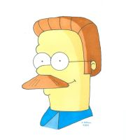 Ned Flanders Jr by 12jack12