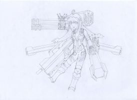 Lucyd Battle Mode sketch by gwandeolyn