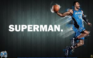 Dwight Howard Superman by IshaanMishra