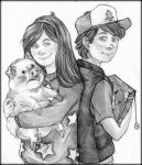 The Mystery Twins by Pustelga4444