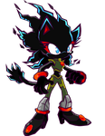 Prototype Blaze The Cat Battle style by Waito-chan