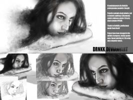 Speed drawning BOREDOMmixBEAUTY by drNKK