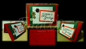 Holiday Card Project 2013 - Season's Greetings by FerrerTriple0