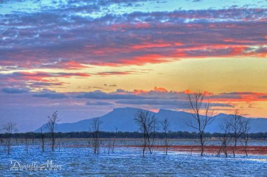 Lake Lonsdale Sunset by daniellepowell82
