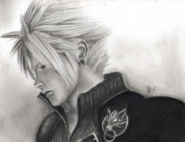 Cloud Strife by AngelicaBq