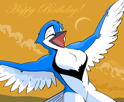 Birthday Cheer by Phil-R