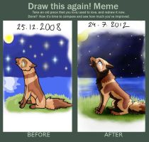 Draw Again Meme by sepi32014