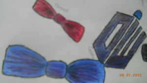 Bow Ties And A TARDIS by Biggerontheinside10