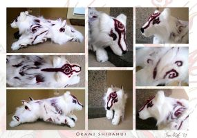 Okami Shiranui - Plush by Starcanis