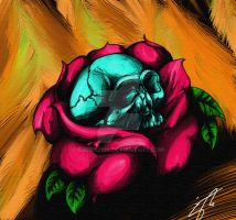 Growing Skull Color by green2106