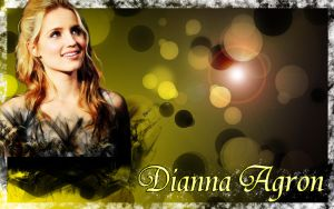 Dianna Agron Wallpaper by CertainlyLostFameGal