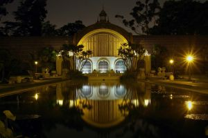 Balboa Park At Night by ChristopherPayne