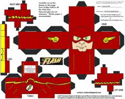 GL 10: Flash Wally Cubee by TheFlyingDachshund