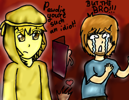 Pewdie and Stephano by SolluxaCaptor