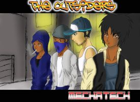 Mechatech - The outsiders Gang by Sean-English