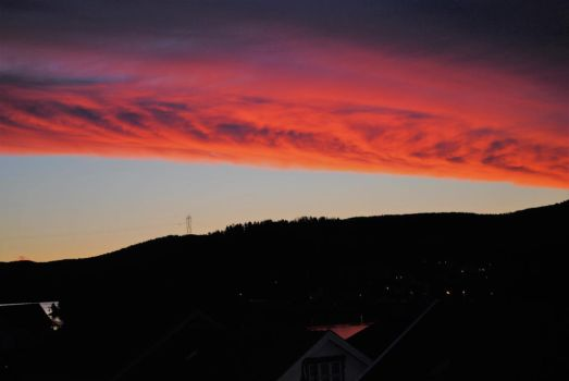 Pink clouds by catrine13246