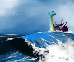 Pokemon - Lapras' Journey by MadCookiefighter