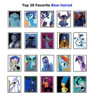 My Top 20 Favorite Blue-Haired Characters by SithVampireMaster27